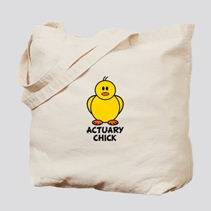 Actuary Chick Tote Bag