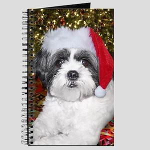 Christmas Shih Tzu Journal