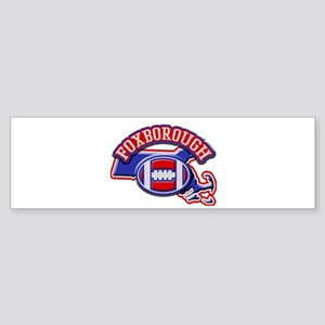 Foxborough Football Bumper Sticker