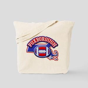 Foxborough Football Tote Bag