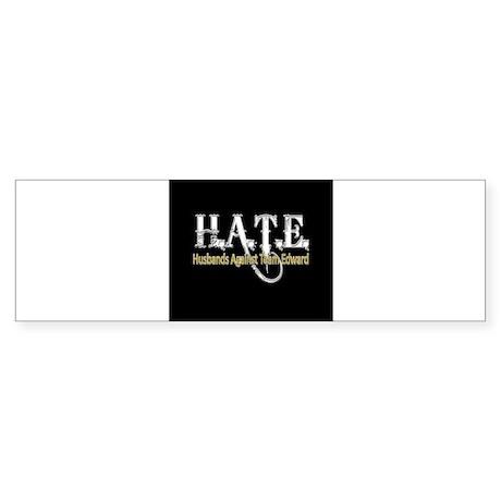 HATE - Husbands Against Team Sticker (Bumper 10 pk
