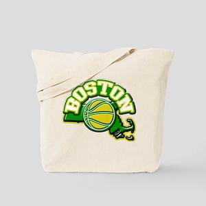 Boston Basketball Tote Bag