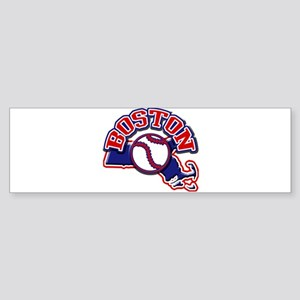 Boston Baseball Bumper Sticker