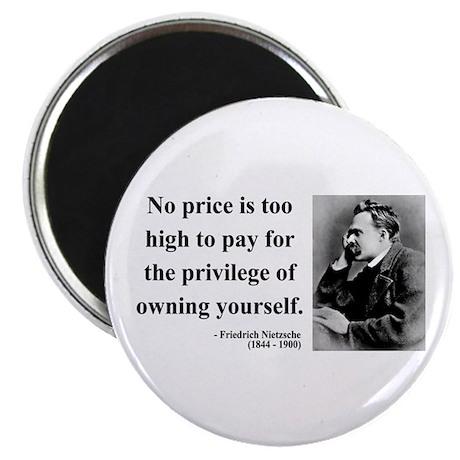 """Nietzsche 36 2.25"""" Magnet (100 pack)"""