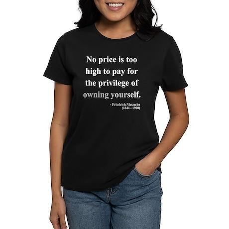 Nietzsche 36 Women's Dark T-Shirt