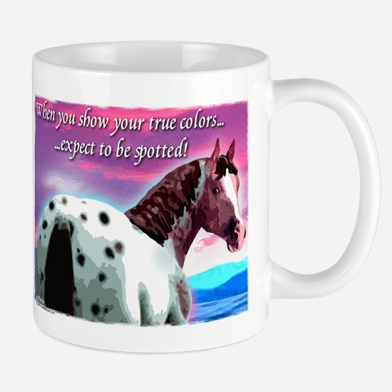 Purple Sky Leopard Appaloosa Mug