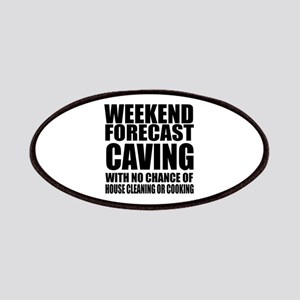 Weekend Forecast Caving Sports Designs Patch