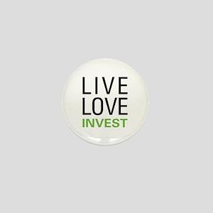 Live Love Invest Mini Button