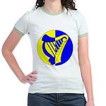 Caer Galen populace Jr. Ringer T-Shirt