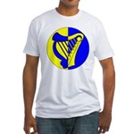 Caer Galen populace Fitted T-Shirt