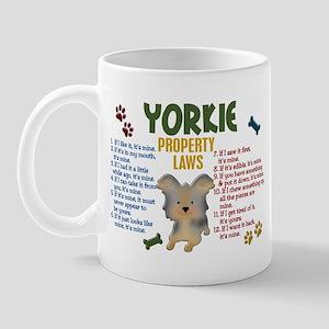 Yorkshire Terrier Property Laws 4 Mug