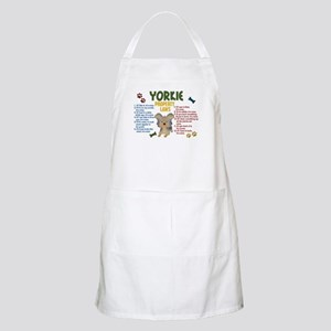 Yorkshire Terrier Property Laws 4 BBQ Apron