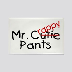 Mr. Crappy Pants Rectangle Magnet