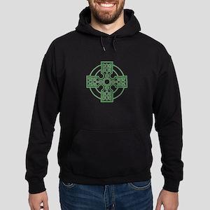 celtic cross Hoodie (dark)