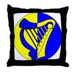 Caer Galen populace Throw Pillow