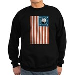 Obama Flag Sweatshirt (dark)