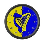Caer Galen populace Large Wall Clock