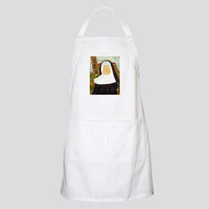 NUN WITH A PEARL EARRING Apron