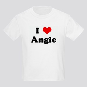 I Love Angie Kids Light T-Shirt