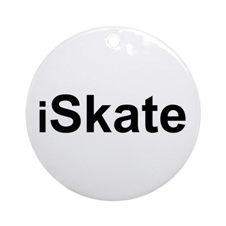 iSkate Ornament (Round)