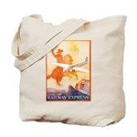 Railway Express Poster 1935 Tote Bag