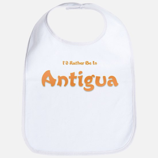I'd Rather Be...Antigua Bib