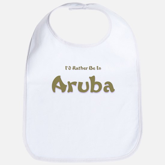I'd Rather Be...Aruba Bib