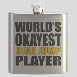 Worlds Okayest High Jump Player Designs Flask