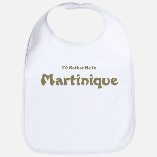 I'd Rather Be...Martinique Bib