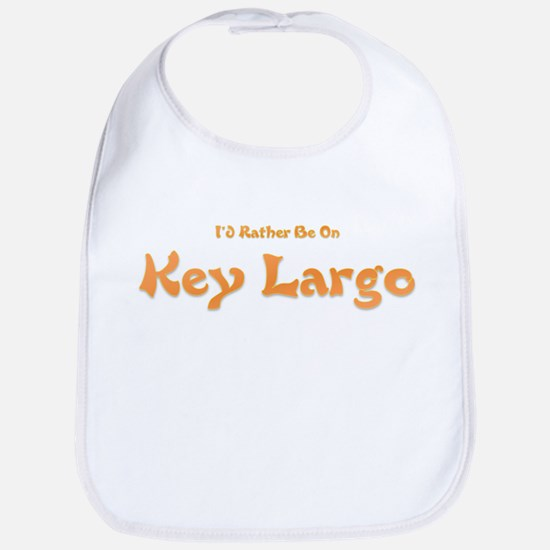 I'd Rather Be...Key Largo Bib