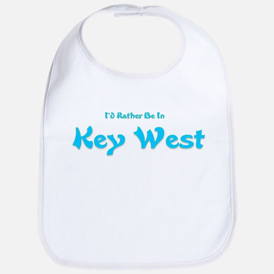 I'd Rather Be...Key West Bib
