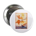 Railway Express Poster 1935 Button