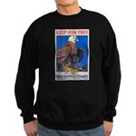 Keep Him Free Eagle Sweatshirt (dark)