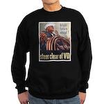 Steer Clear of VD Poster Art Sweatshirt (dark)