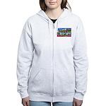 Fort Riley Kansas Women's Zip Hoodie