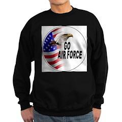 Go Air Force Sweatshirt (dark)