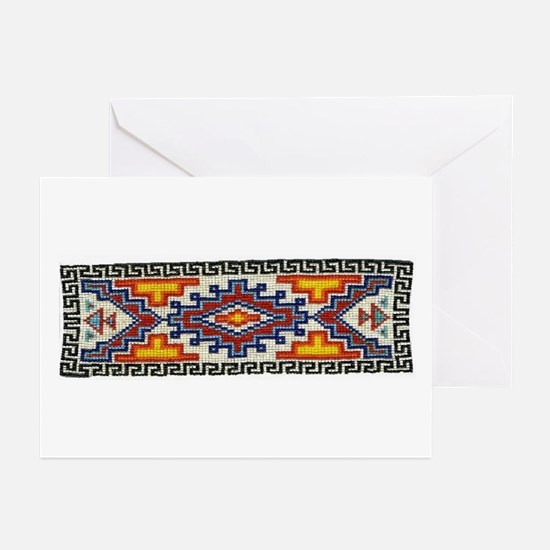 Beaded Tribal Band Greeting Cards (Pk of 10)