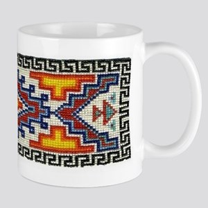 Beaded Tribal Band Mug