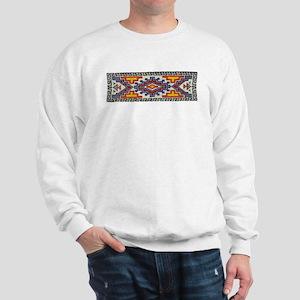 Beaded Tribal Band Sweatshirt
