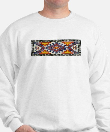 Beaded Tribal Band Sweatshirt