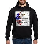Remember Our Veterans Hoodie (dark)
