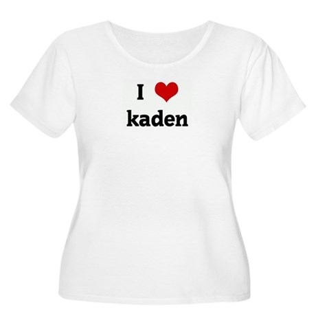 I Love kaden Women's Plus Size Scoop Neck T-Shirt