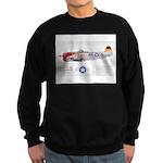 Republic Thunderbolt Aircraft Sweatshirt (dark)