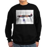 Supermarine Spitfire Aircraft Sweatshirt (dark)