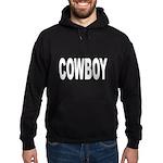 Cowboy Hoodie (dark)