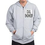 Civil Engineer Zip Hoodie