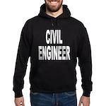 Civil Engineer Hoodie (dark)
