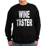 Wine Taster Sweatshirt (dark)