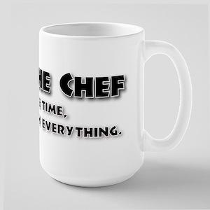 I am the Chef Large Mug