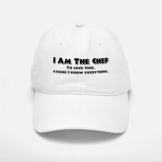 I am the Chef Baseball Baseball Cap